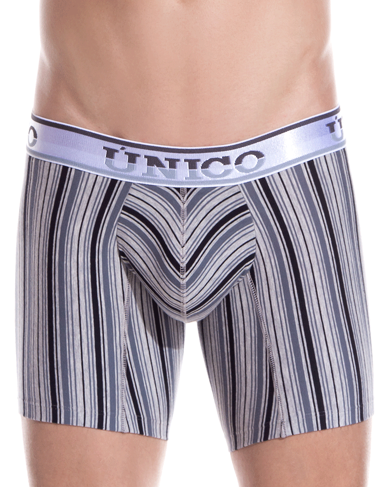 Unico 1902010020465 Boxer Briefs Mind Art Black-white - StevenEven.com
