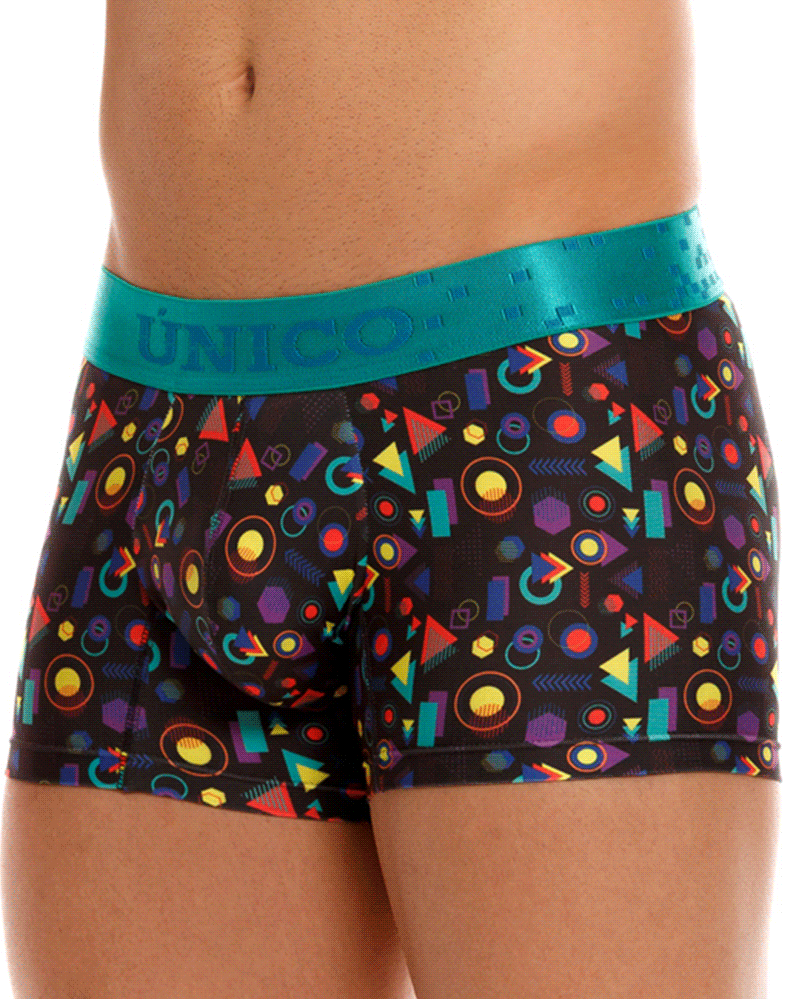 Unico 20320100103 Graphic Trunks 29-black