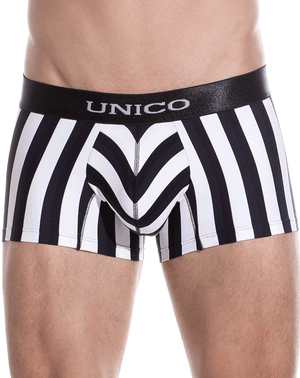 Unico 1410010011452 Boxer Briefs Blackline Microfiber Multi