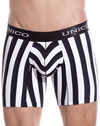 Unico 1410010021452 Boxer Briefs Blackline Microfiber Multi