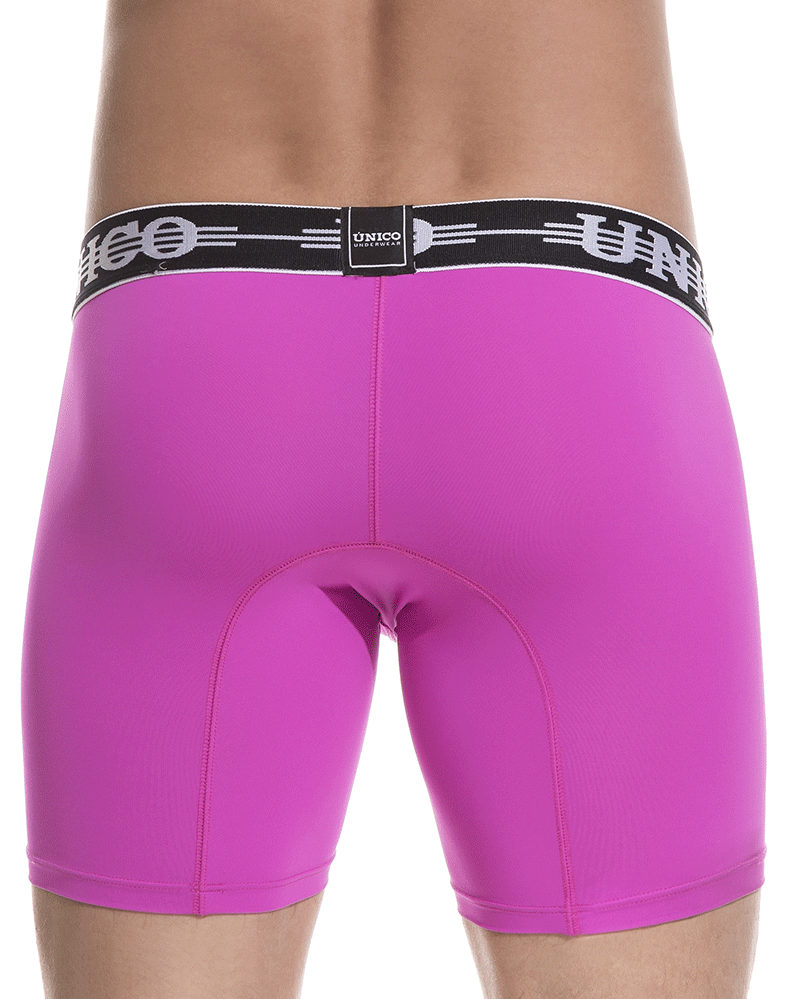 "Unico 1802010024756 Boxer Briefs Connect Pink 10"" - StevenEven.com"