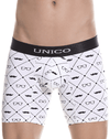 Unico 1802010022000 Boxer Briefs Gentleman White