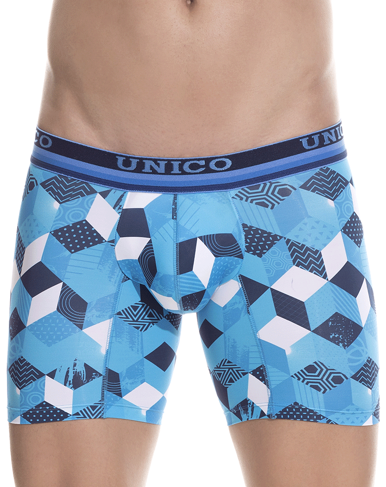 Unico 1802010023348 Boxer Briefs Maker Blue