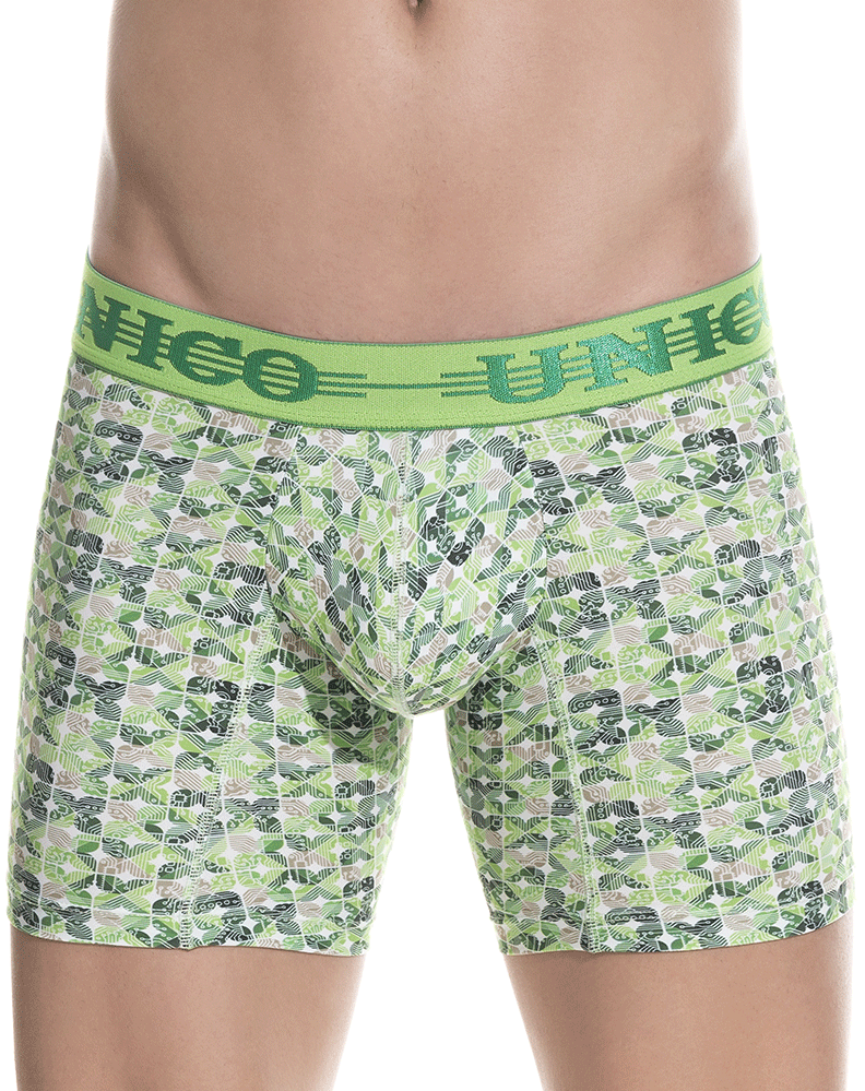 Unico 1802010021743 Boxer Briefs Nidra Green