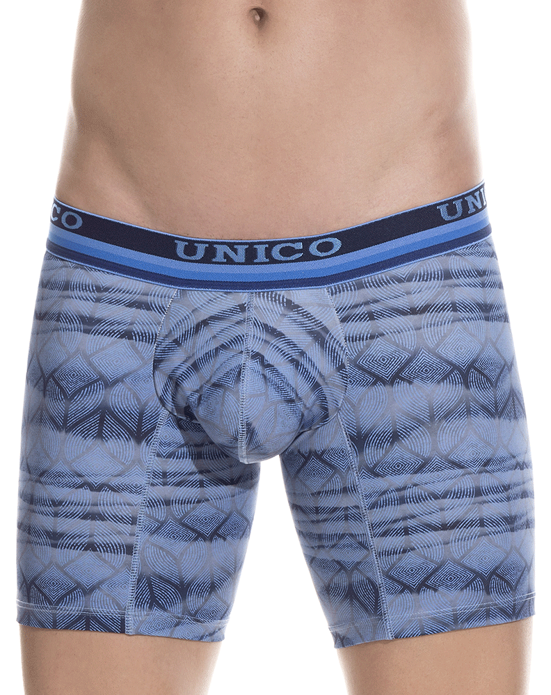 Unico 1802010023446 Boxer Briefs Root Blue