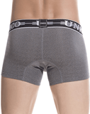 Unico 1802010011194 Boxer Briefs Self  Gray - StevenEven.com