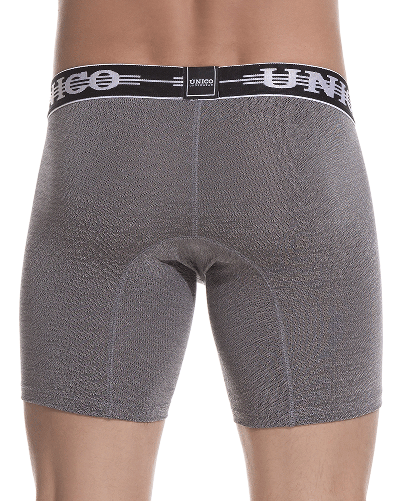 Unico 1802010021194 Boxer Briefs Self Gray - StevenEven.com