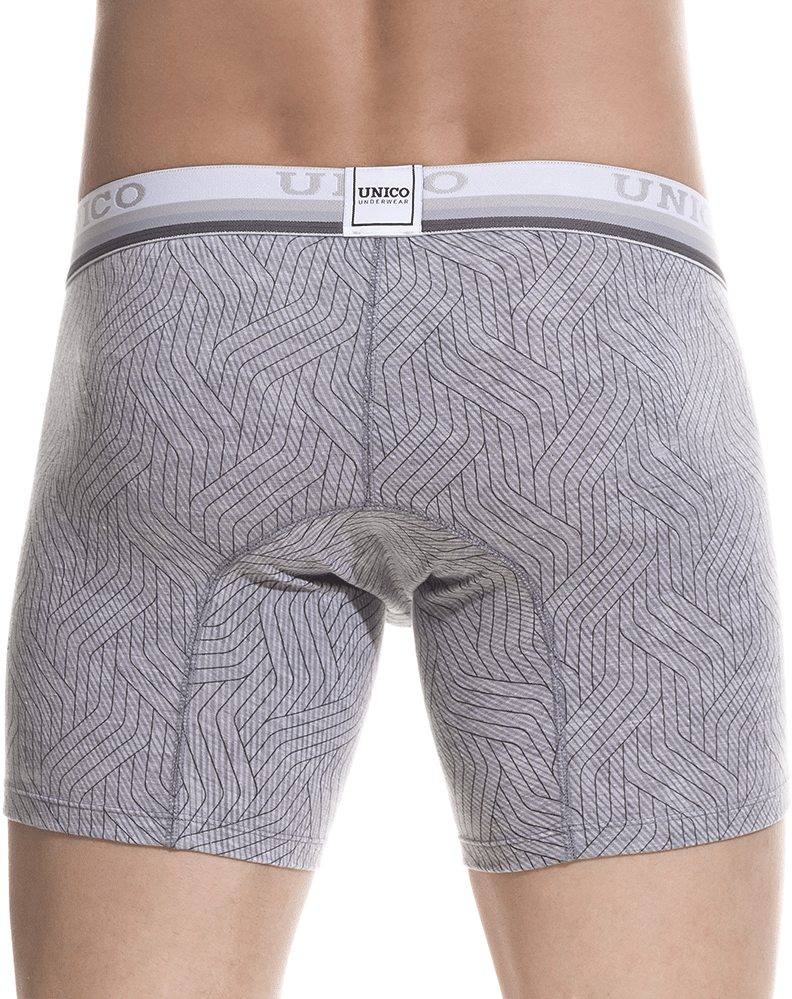 Unico 1802010023259 Boxer Briefs Sharma Gray - StevenEven.com