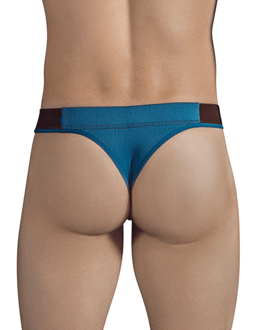 CLEVER 1293 Snowy Thongs Green - Steveneven.com