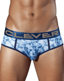CLEVER 5288 Ice Piping Brief Blue - Steveneven.com