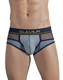 CLEVER 5296 Honeycomb Briefs Gray - Steveneven.com