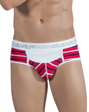 CLEVER 5297 Wine Briefs Red - Steveneven.com