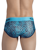 CLEVER 5300 Labyrinth Briefs Blue - Steveneven.com