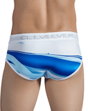 CLEVER 5303 Waves Briefs White - Steveneven.com