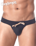 CANDYMAN 99225 Swim Briefs Black - Steveneven.com