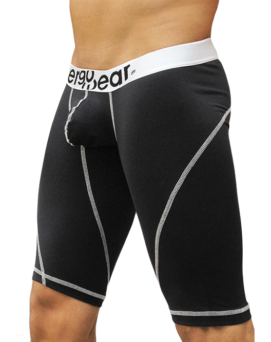 "ERGOWEAR EW0179 GYM Compression Short 15"" Black - Steveneven.com"