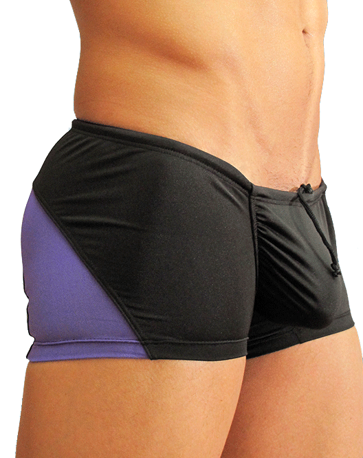 Ergowear EW0322 Feel Swimsuit Black/Purple