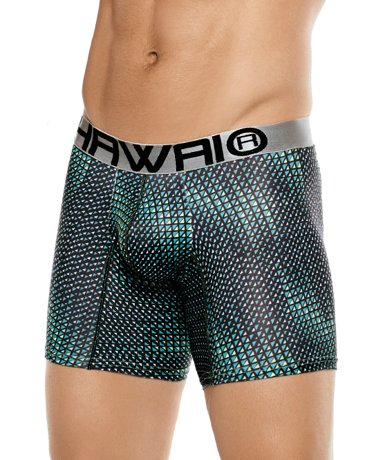 HAWAI 4993 Boxer Briefs Green - Steveneven.com