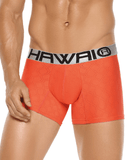 HAWAI 4997 Boxer Briefs Orange - Steveneven.com