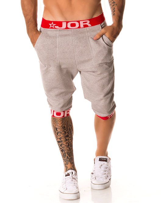 Jor 0162 Energy Sports Bottoms Gray