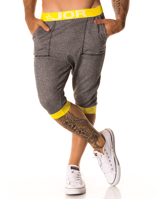 JOR 0162 Energy Sports Bottoms Black - Steveneven.com