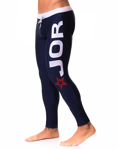 Jor 0226 Energy Long Pants Blue