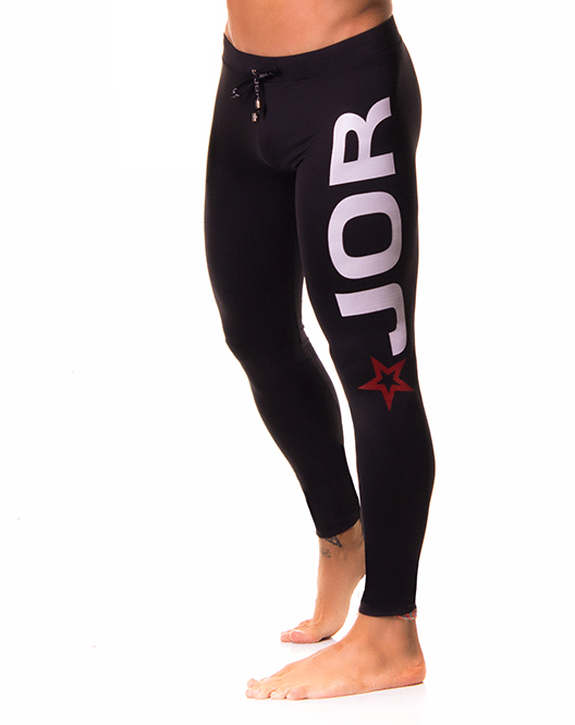 JOR 0163 Olimpic Long Pants Black - Steveneven.com