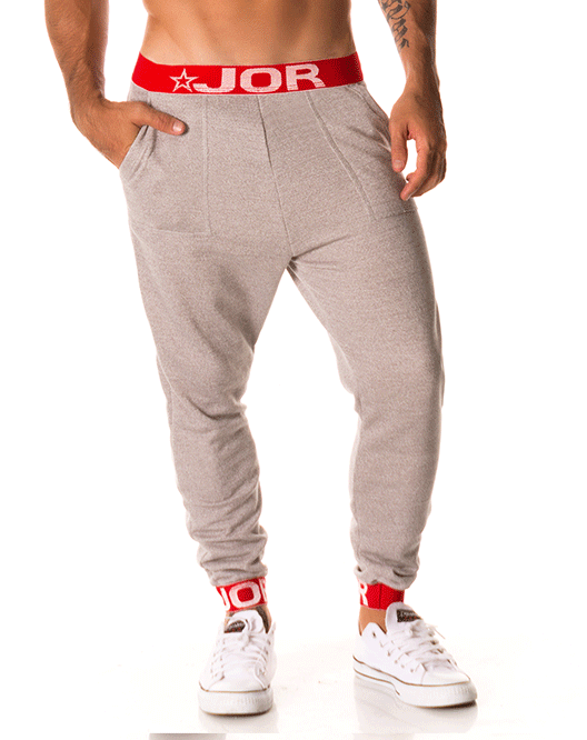 Jor 0226 Energy Long Pants Gray