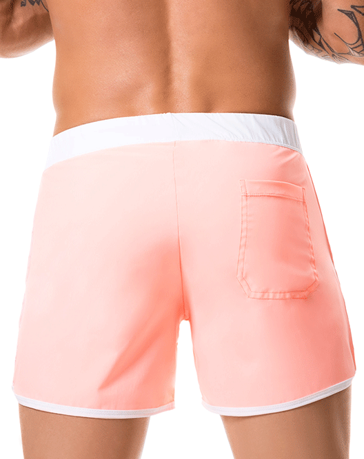 JOR 0360 Bahia Swim Trunks Orange - Steveneven.com