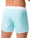 JOR 0360 Bahia Swim Trunks Turquoise - Steveneven.com