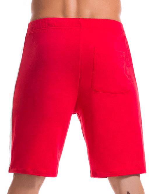 JOR 0365 Warrior Athletic Shorts Red - Steveneven.com