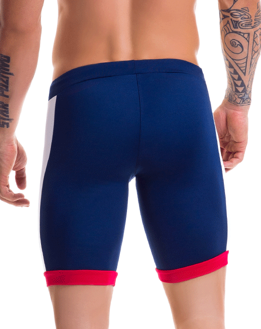 Jor 0445 Racing Athletic Shorts Blue - StevenEven.com