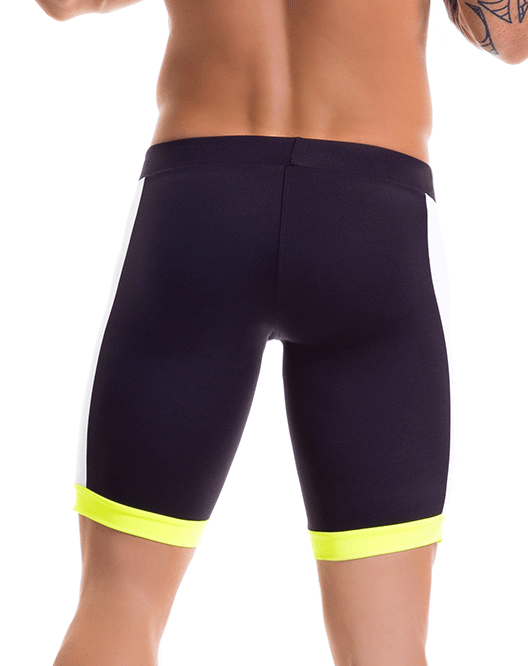 JOR 0445 Racing Athletic Shorts Black - Steveneven.com