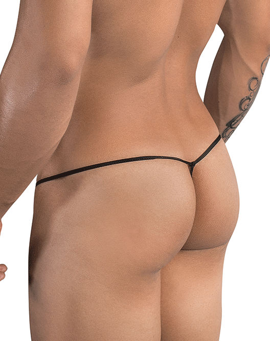 PIKANTE 8037 Thread Thongs Black - Steveneven.com