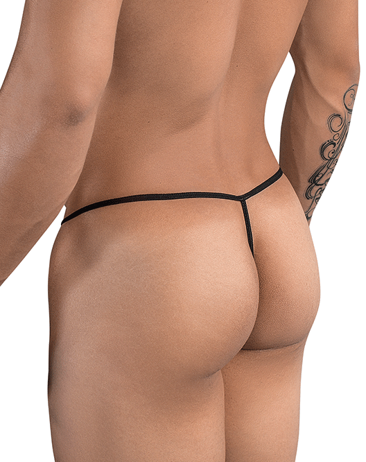 PIKANTE 8038 Ring Thongs Black - Steveneven.com