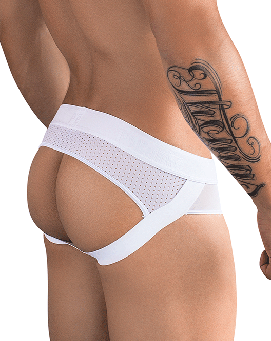 PIKANTE 9252 Surprise Jockstrap White - Steveneven.com