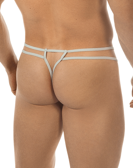 PPU 1551 Thongs Gray - Steveneven.com