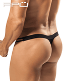 PPU 1552 Crave Thongs Black - Steveneven.com