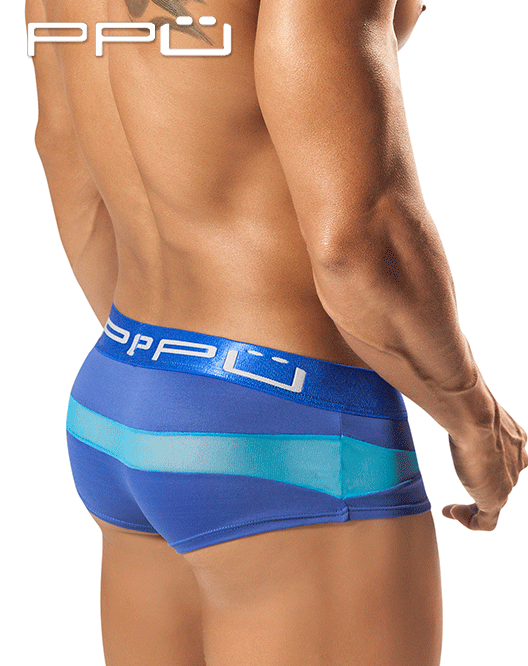 PPU 1555 Wave Brief Blue