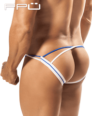 Ppu 1567 Aerie Jockstrap See-Through Mesh White - StevenEven.com