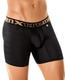 Xtremen 51346 Microfiber Boxer Brief Black 10