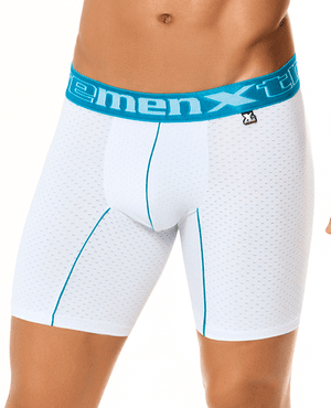 Xtremen 51349 Sports Boxer Brief White 12""