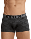 Xtremen 54446c Jacquard Stripes Boxer Briefs Black
