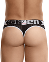 Xtremen 91036 Mesh Thongs Black