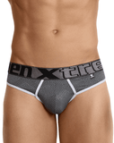 Xtremen 91043 Jacquard Stripes Thongs Gray - StevenEven.com