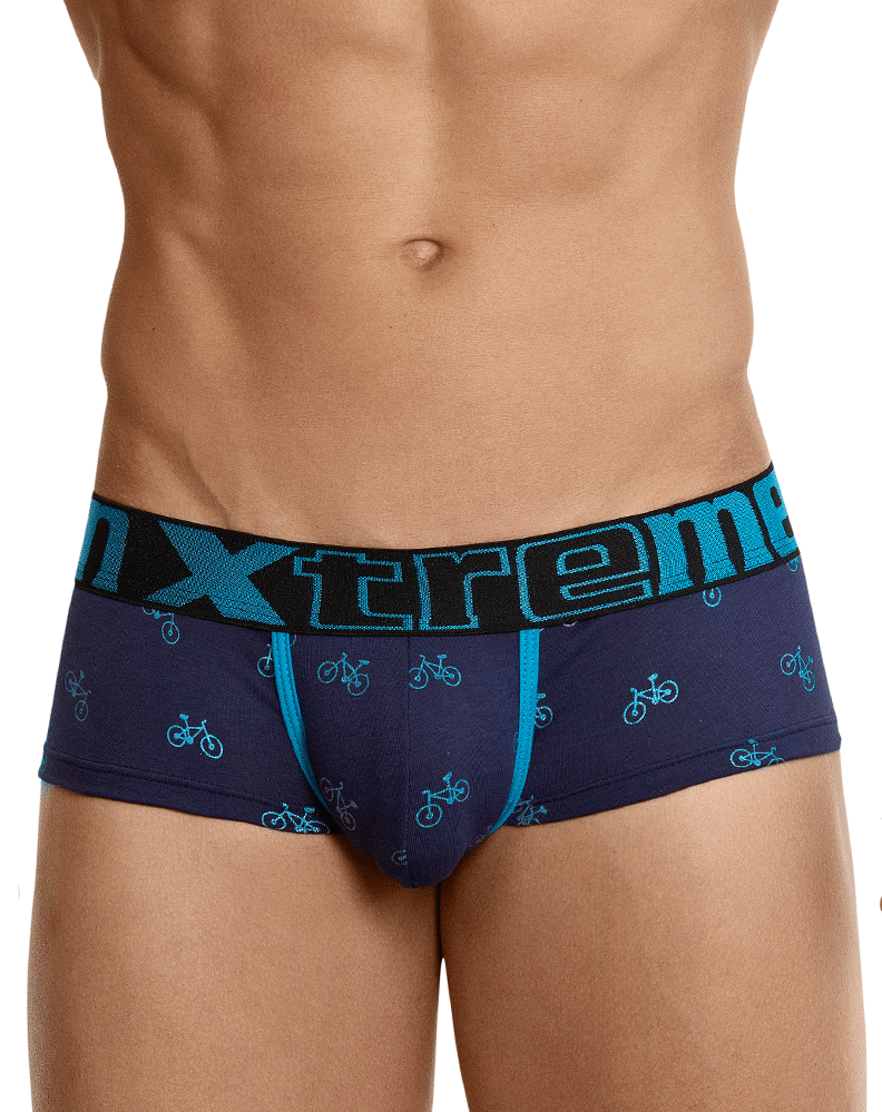 Xtremen 91049 Printed Briefs Dark Blue