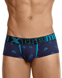 Xtremen 91049 Printed Briefs Dark Blue - StevenEven.com