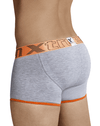 Xtremen 91027 Butt Lifter Boxer Briefs Light Gray
