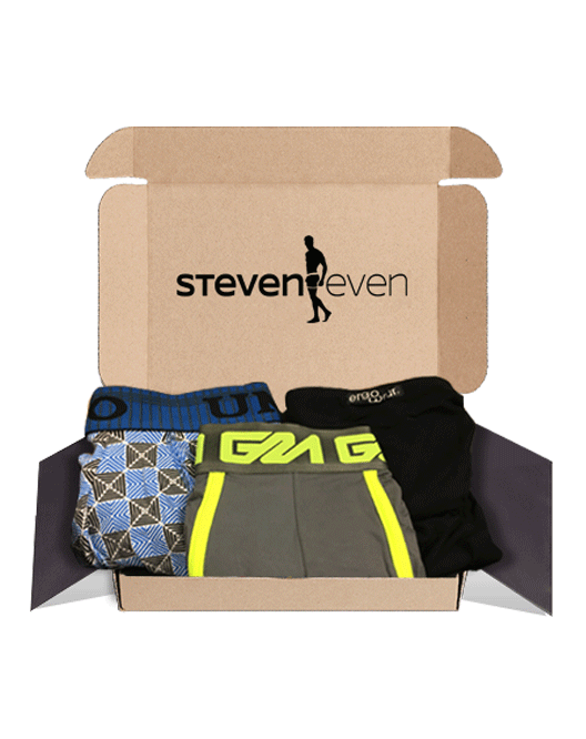 STEVEN Pack2 ReCharge TriMonthly Trunk/Thong