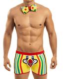 CANDYMAN 99072 Clown Costume Outfit Long Boxer. Multi-colored - Steveneven.com